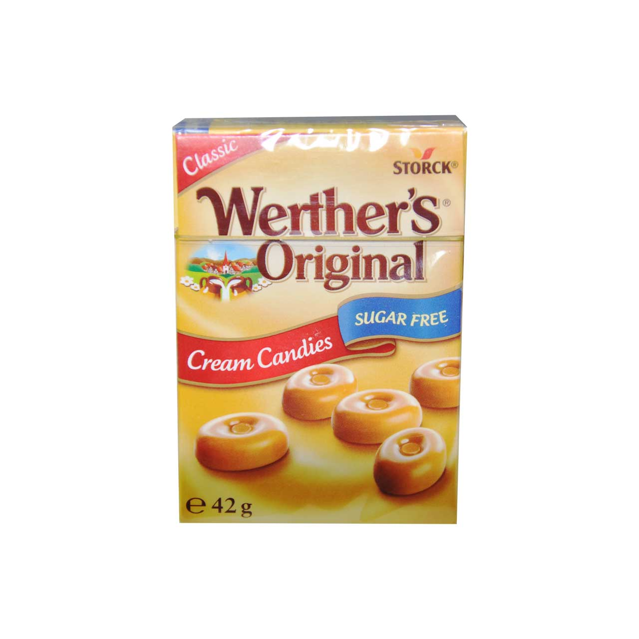 آبنبات بدون شکر وردرز – werthers